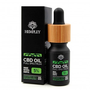 Olejek CBD 5% 500mg Hempley