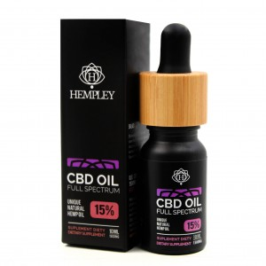 Olejek CBD 15% 1500mg Hempley