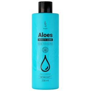 DuoLife - Beauty Care Aloes Micellar Cleansing Water 200ml - woda micelarna
