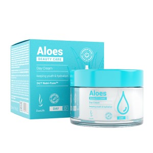 DuoLife - Beauty Care Aloes Day Cream 50 ml - Krem na dzień z aloesem