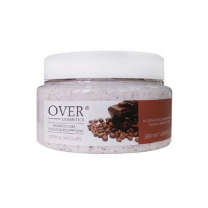 Balsam Do Ciała Z Peelingiem Pod Prysznic Coffee & Chocolate - Over Cosmetics