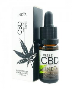India - Olej z CBD 5% 10ml
