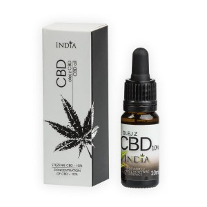 India - Olej z CBD 10% 10ml