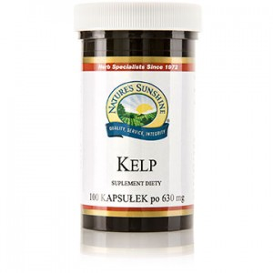 Nature's Sunshine - Jod - Kelp (100 kaps.)