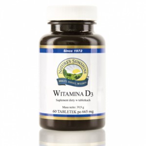 Nature's Sunshine - Witamina D3 (60 tabl.)