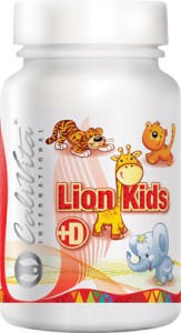 Lion Kids + D 90 tabletek - Calivita