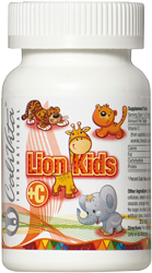 Lion Kids C 45 mg 90 tabletek - Calivita